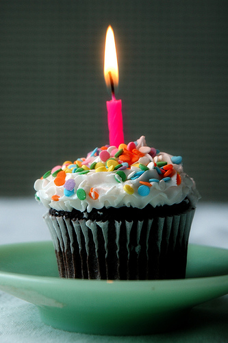 It's my blogging birthday!