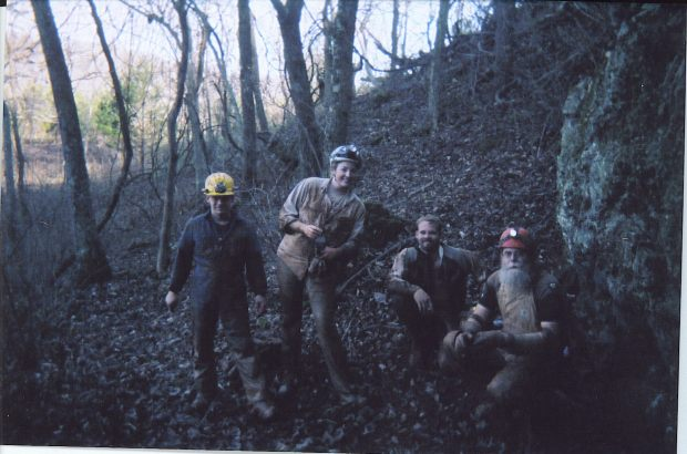 My caving buddies!