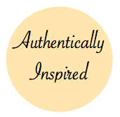 My 2013 Theme: Authentically Inspired.