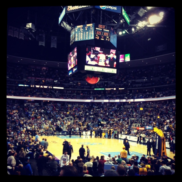 Nuggets game against the OKC Thunder