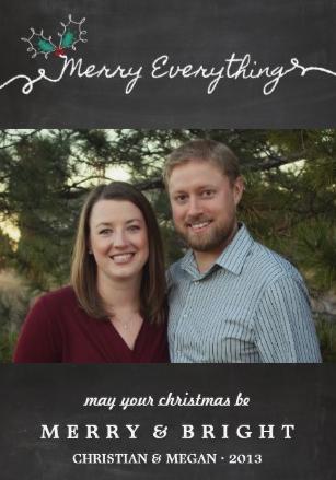 Stecker Christmas Card