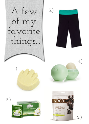 My March Favorites