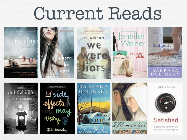 Current Reads In 2015